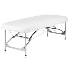 SANILUXE ADJUSTABLE STRETCHER SHEET - WHITE 60X180X8