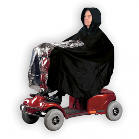 RAINCOAT FOR SCOOTER AND WHEELCHAIR