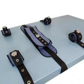 PADDED BED RESTRAINT BELT IRON CLIP COMPLETE PACK