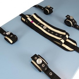 CANVAS BED BELT COMPLETE KIT IRON