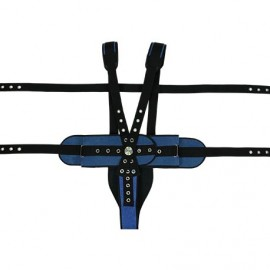 THORAX PERINEAL RESTRAINT BELT IRONCLIP