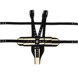 THORAX PERINEAL RESTRAINT BELT FOR BED CANVAS IRONCLIP