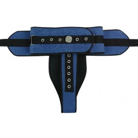 PADDED PERINEAL BED RESTRAINT BELT IRONCLIP