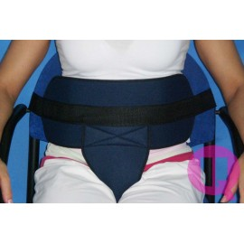 PADDED PERINEAL RESTRAINT BELT