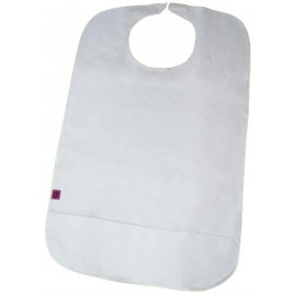 UBIO TERRY BIB WITH VELCRO/CLIP CLOSURE & POCKET 75 x 45