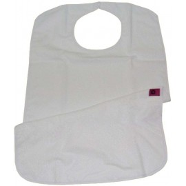 UBIO TERRY BIB WITH CLIP CLOSURE 75 x 45