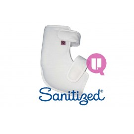 SUAVINEL  MULTIPOSITIONING BOOTEE - WHITE