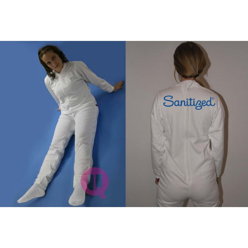 Sanitized Incontinence Pyjama Winter Long Sleeve Ubiotex 174