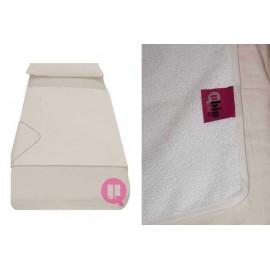 SANILUXE WATERPROOF BED PROTECTOR SHEET 120 X 100