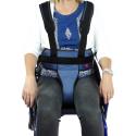 ARMCHAIR / PADDED MAGNETIC PERINEAL RESTRAINT BELT