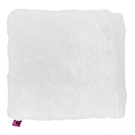 SANITIZED SQUARE CUSHION - WHITE 44X44