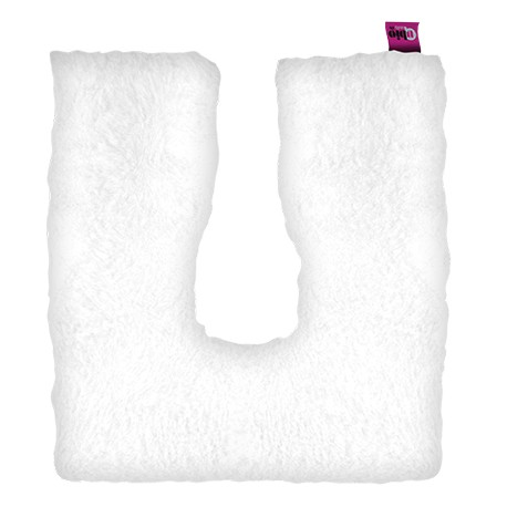 COUSSIN FER A CHEVAL CARRE BLANC