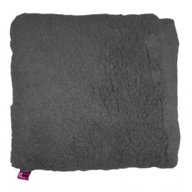 SANITIZED SQUARE CUSHION - GREY
