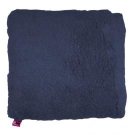 SANITIZED SQUARE CUSHION - NAVY BLUE