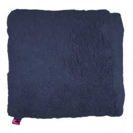 SANITIZED SQUARE CUSHION - NAVY BLUE