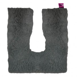 COUSSIN FER A CHEVAL CARRE GRIS