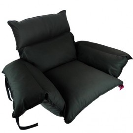 PADDED SANILUXE SEAT COVER GRAPHITE