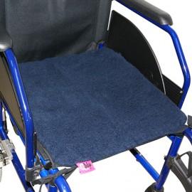 SUAPEL WHEELCHAIR SEAT PROTECTOR NAVY BLUE 42x42