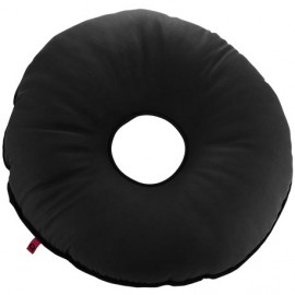 SANILUXE ROUND CUSHION W/HOLE - GRAPHITE
