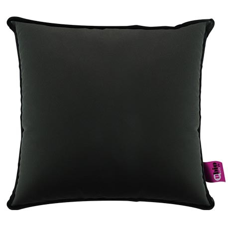 SANILUXE SQUARE CUSHION GRAPHITE