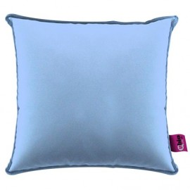 SANILUXE SQUARE CUSHION 44X44- LIGHT BLUE