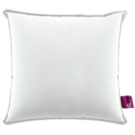 SANILUXE SQUARE CUSHION 44X44 WHITE