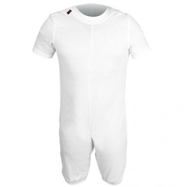PYJAMA POUR L'INCONTINENCE SANITIZED T/COURT BLANC