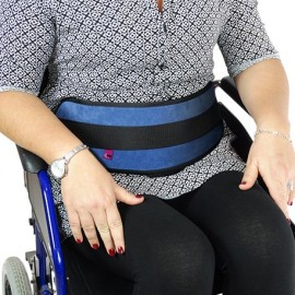 ARMCHAIR / PADDED BUCKLES ABDOMINAL RESTRAINT BELT