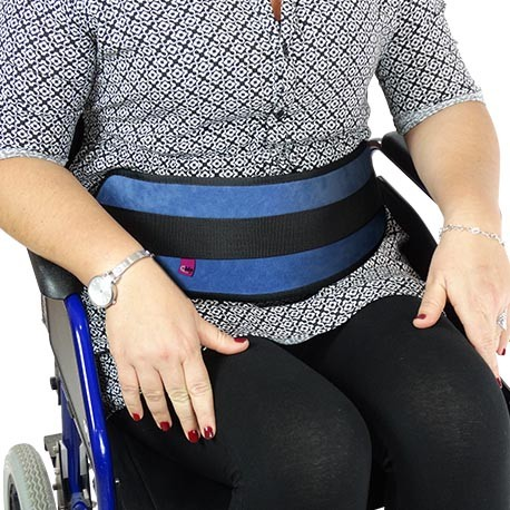 ARMCHAIR PADDED BUCKLES ABDOMINAL RESTRAINT BELT