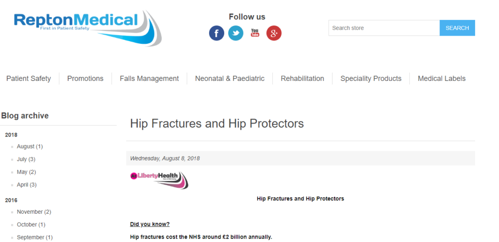 Hip Fractures and Hip Protectors